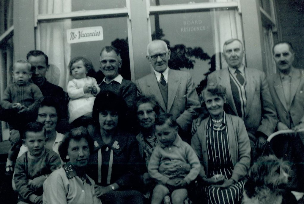 McCreath family and other guests 1962
