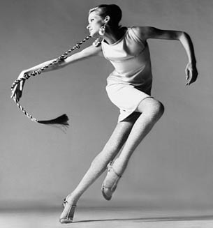 Veruschka, dress by Kimberly, New York, January 1967