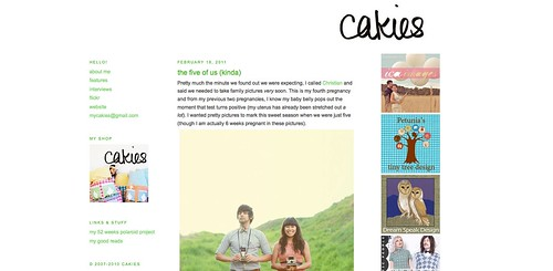 Blogs I love - Cakies
