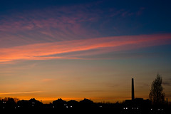 Colors in the Sky (Ana Pratas) Tags: sunset pordosol sky tower portugal silhouette delete10 clouds delete9 delete5 delete2 torre delete6 delete7 delete8 delete3 delete delete4 save cu nuvens ceu aveiro silhueta prdosol antigafbrica cu prdosol deletedbythehotboxuncensoredgroup antigafabrica antigafbrica