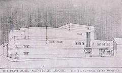 The Angus Playhouse Cinema, Montrose, 1932 (phantom of the flicks) Tags: cinema architecture scotland 1930s angus montrose playhouse movietheatres scottishcinemas caledonianassociatedcinemas picturepalaces jbmilne