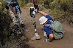 Day 7 (DUMagazine) Tags: kilimanjaro tanzania neil veteran duncan amputee rongai