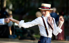 Jazz Age NYC (jwoodford35) Tags: 1920s portrait canon costume bokeh 5d canon5d 135mm canonef135mmf2lusm jazzagelawn