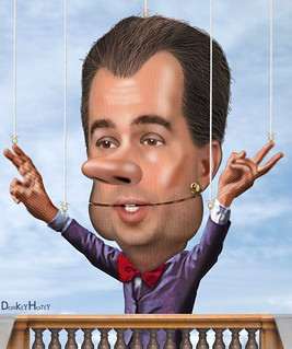 Wisconsin Gov. Scott Walker is a puppet for the Oligarchy, From ImagesAttr