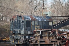 Old Boxcar destruction. (CamperMike) Tags: old railroad wooden nw boxcar budweiser destroyed demolished