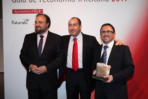 Reconocimiento a Clave Informática en la I Gala de Economia Ilicitana