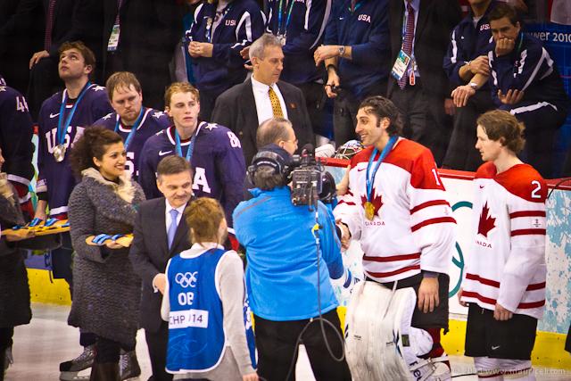 Men's Olympic Hockey Gold 2010