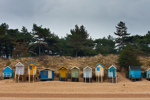 Huts and Holkam