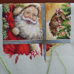 Santa Progress