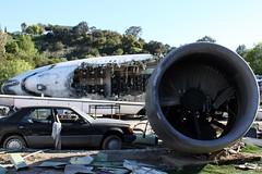 Plane Crashed (Prayitno / Thank you for (9 millions +) views) Tags: world california ca la los war angeles crash crashed aircraft hollywood universal boeing studios 747 ush waroftheworld plance konomark