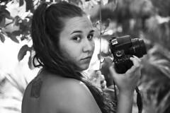 prima fotografiando (María Granados) Tags: blackandwhite blancoynegro tattoo retrato