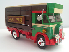 Old cattle truck.... (bricktrix) Tags: truck cattle lego albion