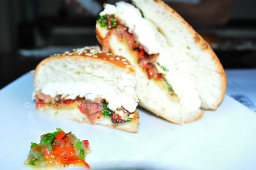 Sandwich  Mojito aji dulce, tocineta y Guayanes2