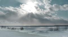 Souffle d'hiver. Breath of winter (Amiela40) Tags: blue winter white river turquoise hiver breath bleu souffle blanc admirer fleuve stlawrenceriver tourbillon veille fleuvestlaurent lemondemerveilleuxdelaphoto