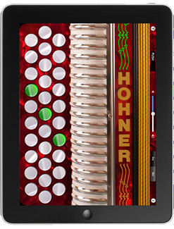 Hohner SqueezeBox - Diatonic Accordion Apps for iOS and Android