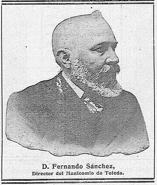 Fernado Sánchez, director del Hospital del Nuncio en 1914.  'La Campana Gorda' - Año XXII Número 1217 (15/01/1914)