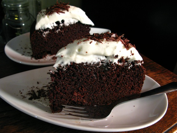 chocolate guinness cake 005