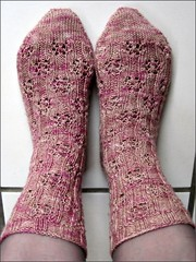 Mochaberry Brambles Socks, perfect fit