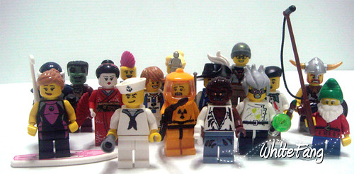 Custom minifig real life series 4 minifigs!