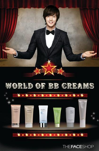 """Kim Hyun Joong The Face Shop """"The World of BB Creams"""" [Mar 2011]"""
