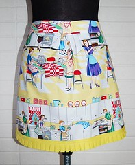 Fat Quarter Apron by The Modern Lady