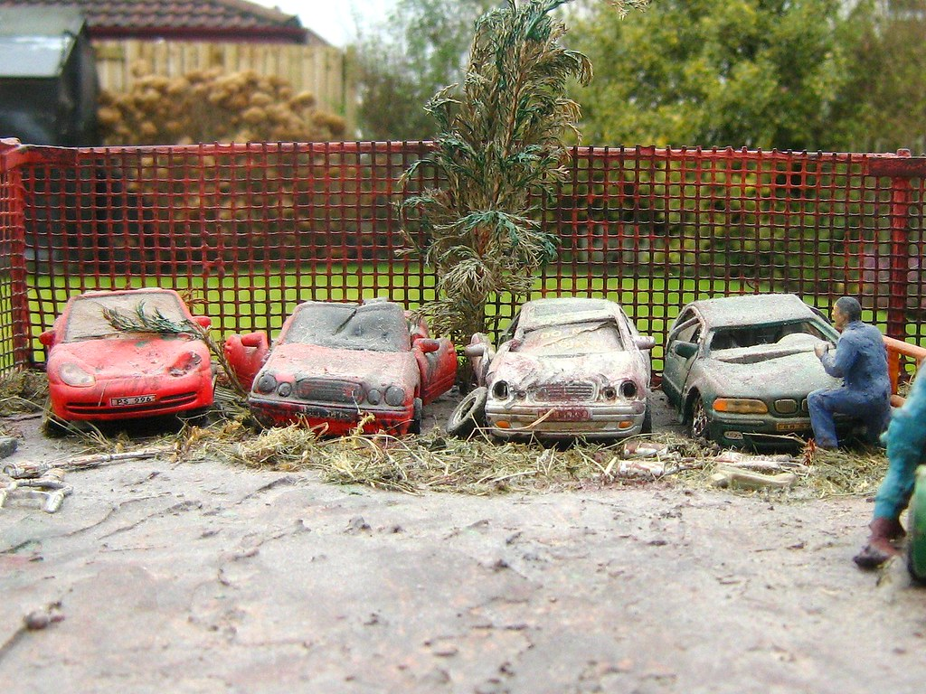 The world 39 s best photos of pastimes and toy flickr hive mind for Mercedes benz scrap yard
