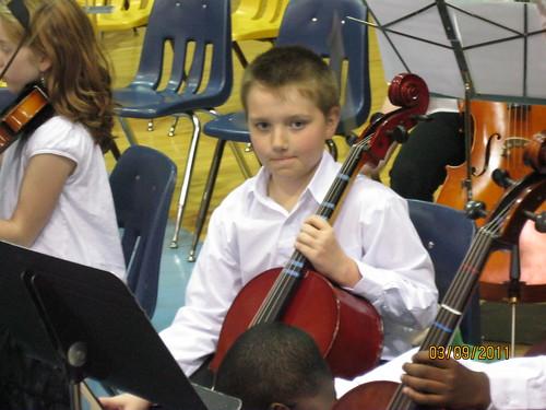 3/9/11: Nicholas strings concert