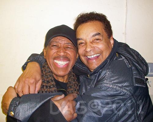 Ben E King & Gary U S Bonds best buddies!