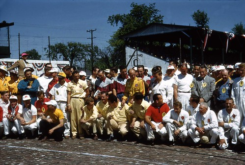 Driver Line-up for the 1952 Indianapolis 500