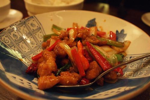 General Po's chicken