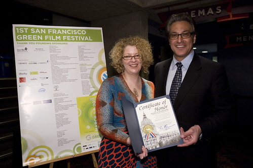 Rachel Caplan and Ross Mirkarimi