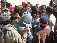 Gaining understanding of the humanitarian situation at Salloum (Stabilisation Unit images) Tags: unitedkingdom libya stabilisation