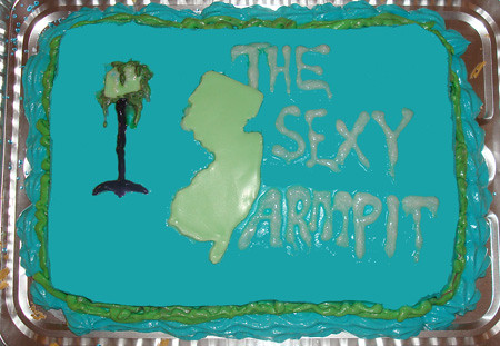 Sexy Armpit Cake