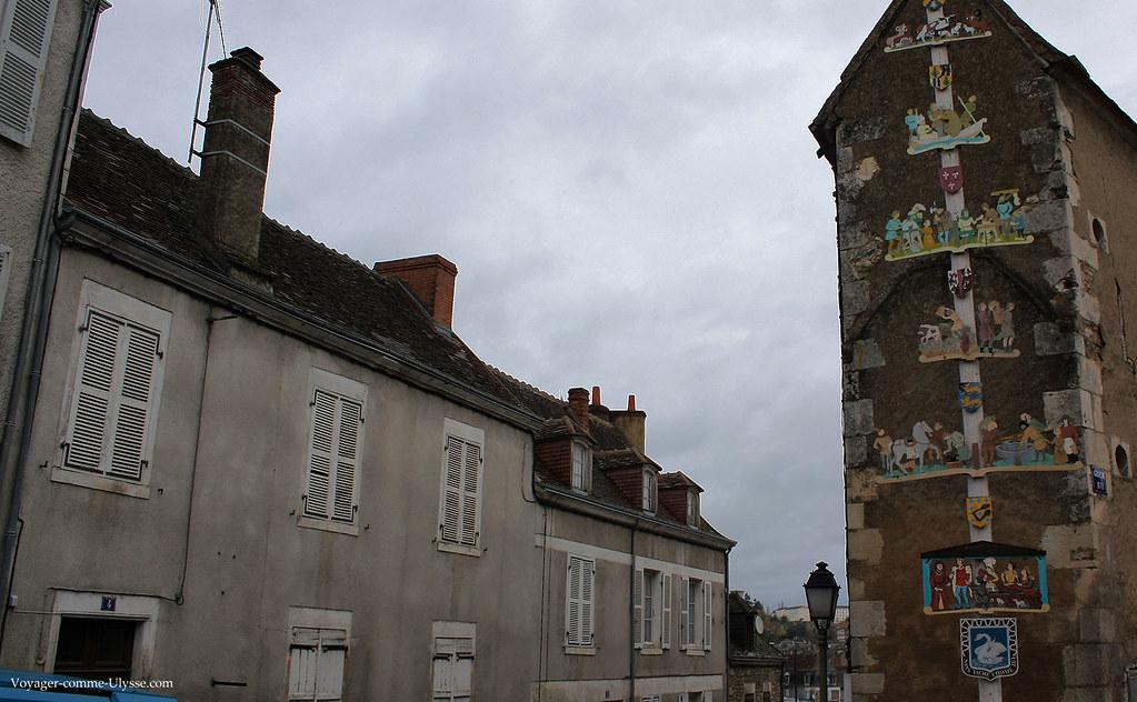 A droite, arbre des métiers de la Ville Haute
