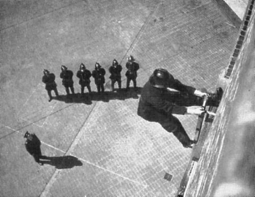 """Lie Back"" - LFB Hook Ladder Drill-Lambeth TS-Circa 1960"
