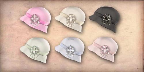 CHERIE hats gacha