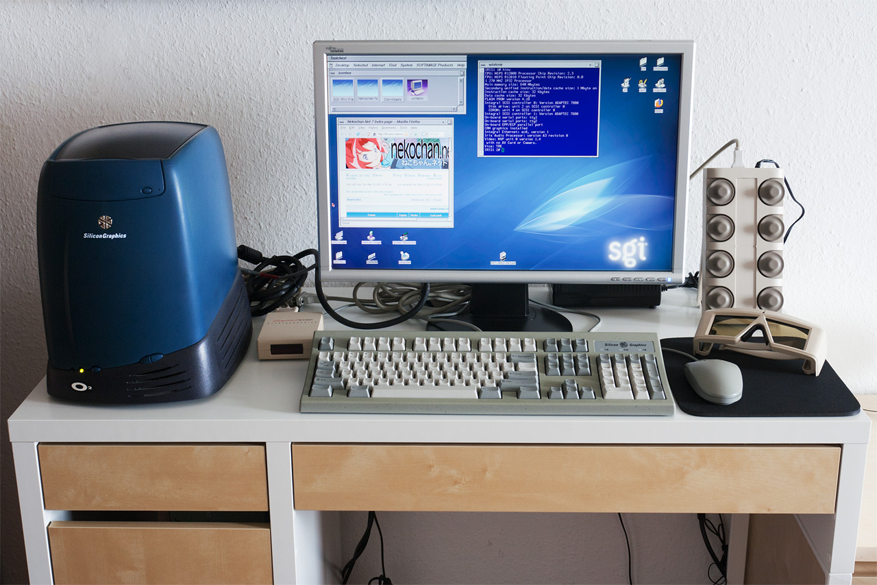 Obsolete : The SGI O2 R5000