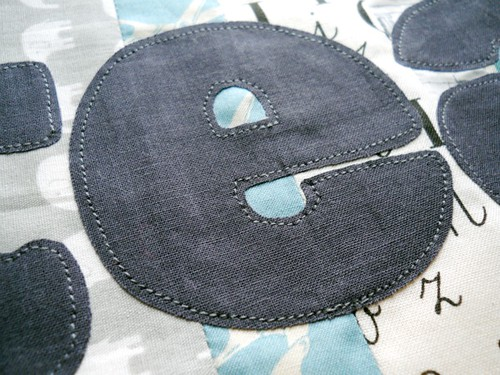 raw edge machine applique