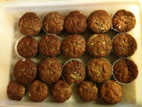 Banana Muffins Before the Chocolate