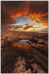 gate to heaven (chris frick) Tags: sunset italy seascape color reflections dusk wideangle filter lee sicily drama mediterraneansea sanvitolocapo chrisfrick canoneos5dmark2 075gndhard canon1625mmf28liiusm
