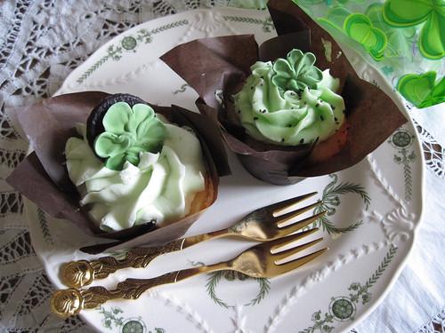 Irish Cupcakes!