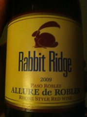 2009 Rabbit Ridge Allure de Robles