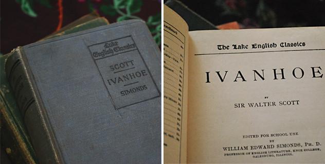 Vintage Books: The Ivanhoe