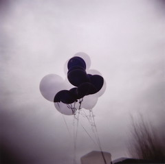 Little hallucination (angela_c_m) Tags: sky film balloons holga lomo lomography focus purple doubleexposure circles toycamera multipleexposure trippy 120mm overlap 120n overlapping mutedtones