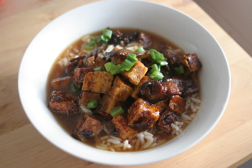 bakmoy - tofu and rice