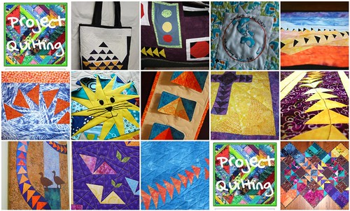 Project Quilting - Flying Geese Challenge Entries