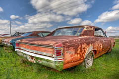 Chevelle Super Sport HDR Topaz (hz536n/George Thomas) Tags: chevrolet mississippi march spring rust lab rusty chevelle chevy canon5d hdr supersport smrgsbord moorhead 2011 photomatix labcolor ef1740mmf4lusm cs5 topazadjust photomatix40 hz536n