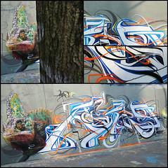 Mantra/Astro (SKE) Tags: urban streetart paris art colors wall graffiti paint artist couleurs letters style astro peinture crew painter graff 7