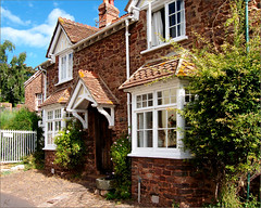 Cottage in Dunster, Somerset, UK (oxfordian.world) Tags: uk england architecture cottage somerset dunster minehead oxfordian oxfordianworld oxfordiankissuth