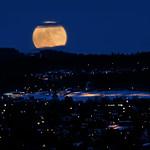 Super Moon in Trondheim, Norway (Explored 20/3-2011)